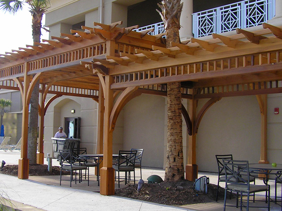 choose the height of your pergola