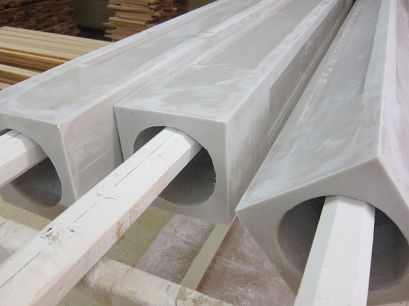 Structural Columns, caps and bases