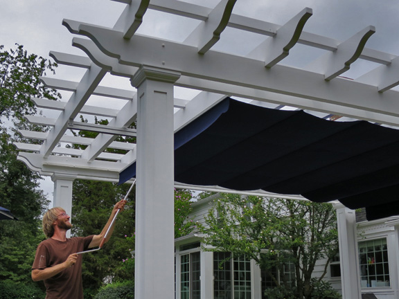 Pergola canopies are becoming more and more popular